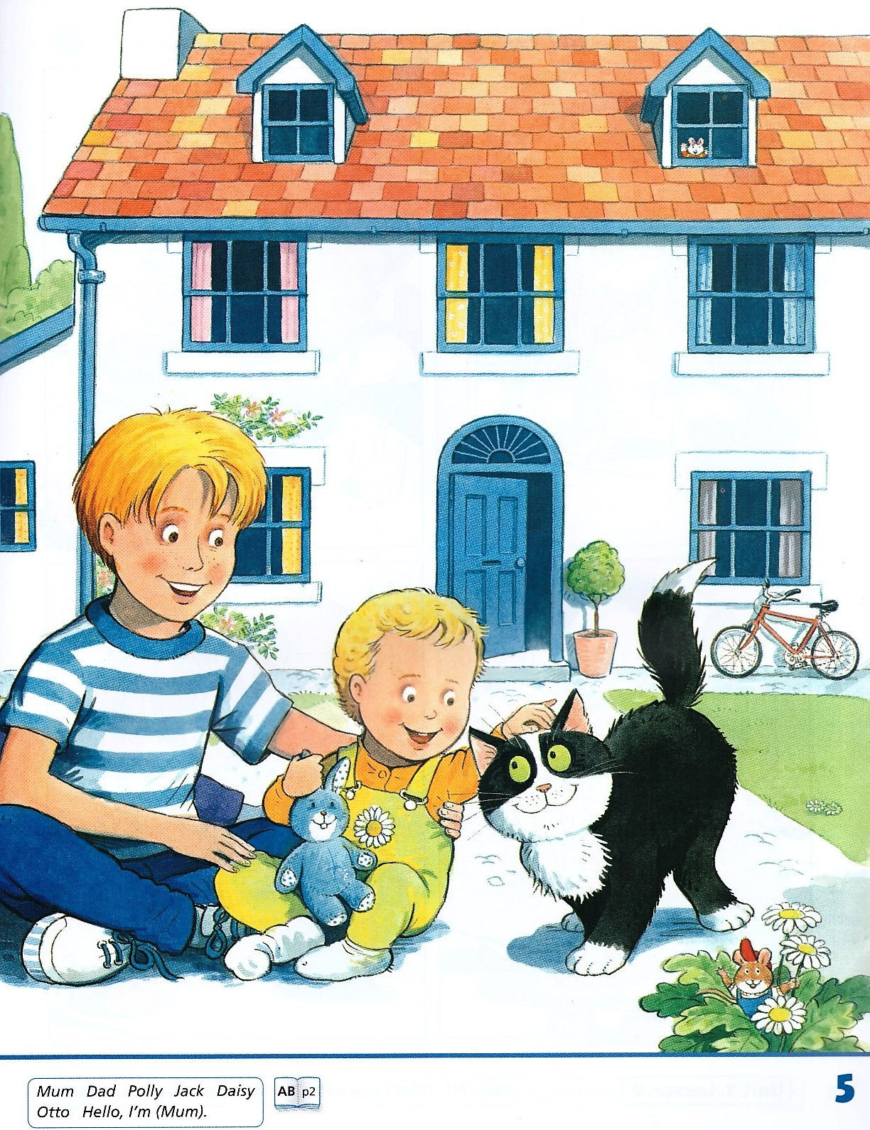 Изображение Happy House (New Edition) 1 Class Book страница 3